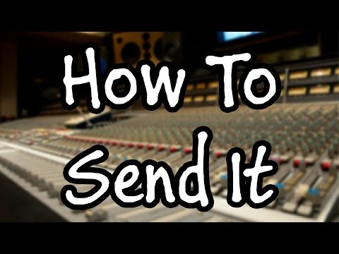 How You Should Send Your Files For Mixing And Mastering