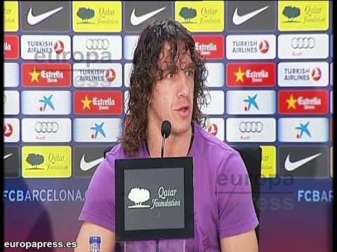 Carles Puyol se despide de Guardiola con elogios
