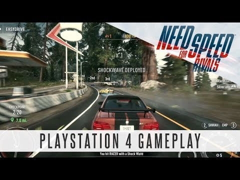 Need For Speed Rivals - PlayStation 4 Gameplay (PS4)