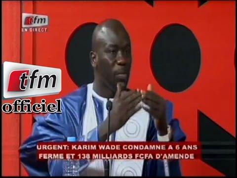 Réaction de Cheikh Yérim Seck après le verdict de Karim Wade