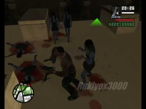 gta san andreas loquendo misterio(con iron man)