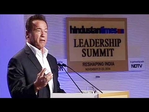 Arnold Schwarzenegger on