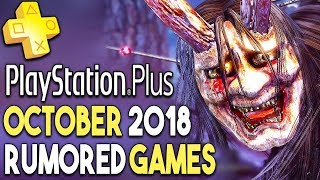 PS+ October 2018 Games RUMOR! Another FREE PS4 Game WEEKEND!