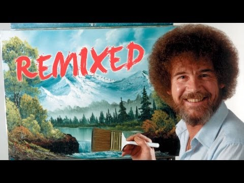 Bob Ross Remixed | Happy Little Clouds | Pbs Digital Studios video