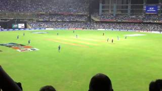 The Winning Moment from Wankhede Stadium
