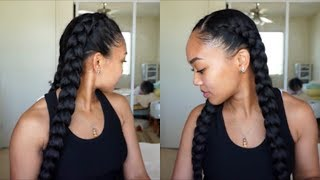 HOW TO: Dutch/French Braid Your Own Hair