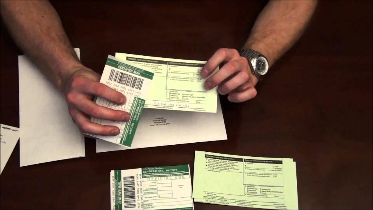 Registered Post Large Letter