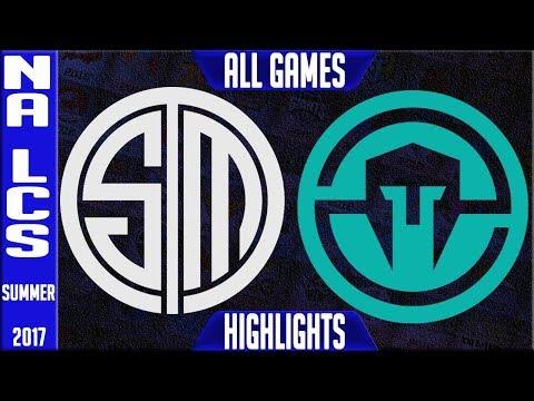 Team Solomid vs Immortals Highlights ALL GAMES Grand Final NA LCS Playoffs Summer 2017 TSM vs IMT