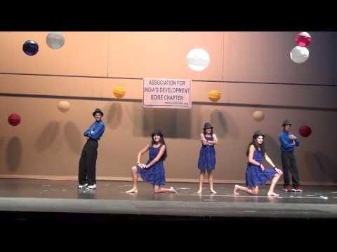 Disco Deewane Dance at AID India Nite 2013