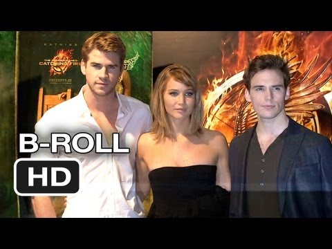 The Hunger Games: Catching Fire Cannes Film Festival B-Roll (2013) HD