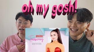 Korean mans React to Ayda Jebat 'Temberang' Malaysia Song