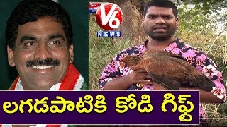 Bithiri Sathi To Present Hen To Lagadapati Rajagopal | Satires On Lagadapati Survey | Teenmaar News