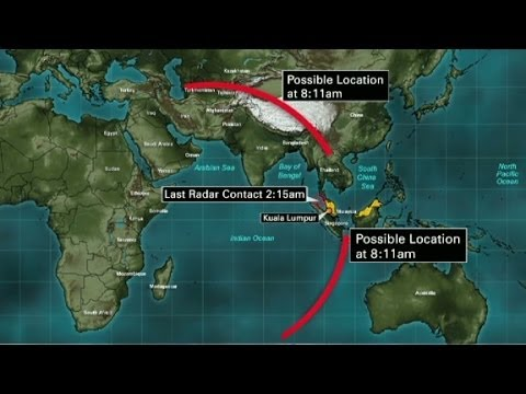 Flight 370: Landed, and refueled?