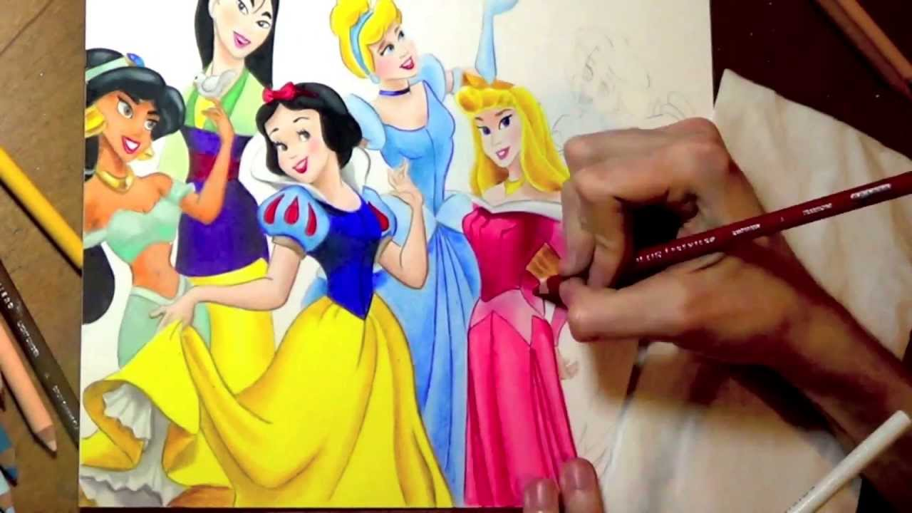 Art of Coloring Disney Princess 100 Images to Inspire
