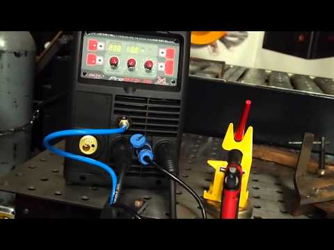 LONGEVITY PROMTS 200 - 3 in 1 MIG - TIG - STICK WELDER REVIEW RESPONSE VIDEO TO CHUCKE2009