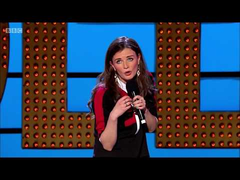 Stand-up comedy Aisling Bea. Not viewable in UKIreland. Apr 2015