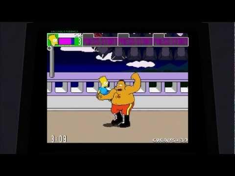The Simpsons Arcade 2012