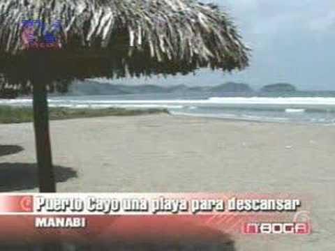 Puerto Cayo una playa para dencansar