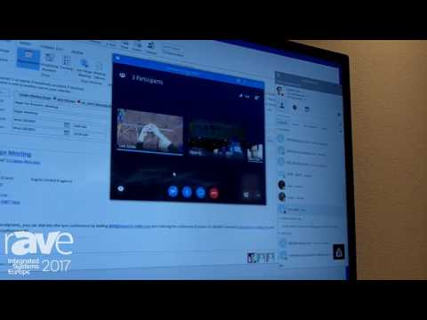 ISE 2017: Cisco Showcases Conferencing  and Interoperability with Skype for Business Integration