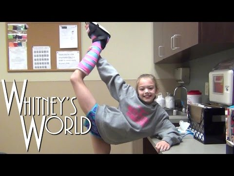 Not a Cast! | Whitney's Ankle Injury