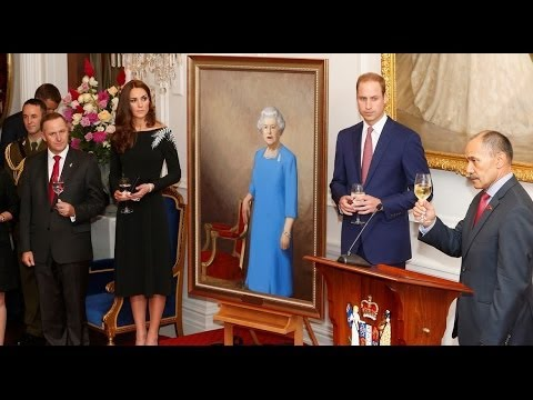 """Kate Middleton And Prince William (April 10, 2014) - Thank """"New Zealand"""" For Welcoming"""