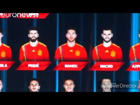 BREAKING NEWS: Spain names its World Cup squad