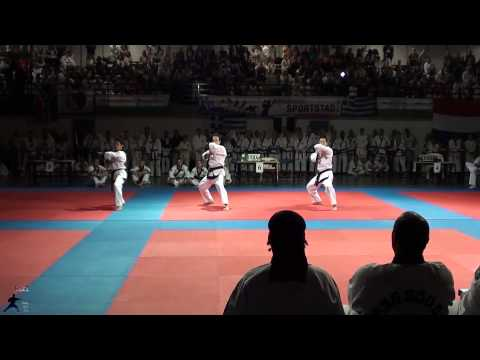 Tang Soo Do World Championships 2013 Rotterdam Team Forms Netherlands Image 1