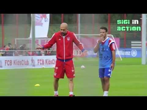 FC Bayern: Pep Guardiola gives Juan Bernat directions (Pep Show Part 3)