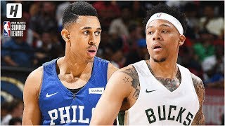 Philadelphia 76ers vs Milwaukee Bucks - Full Game Highlights | July 5, 2019 NBA Summer League