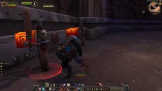 WoW Legion beta: Worgen Outlaw Rogue