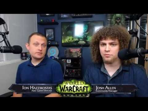 Legion Live Developer Q&A W/ Ion Hazzikostas