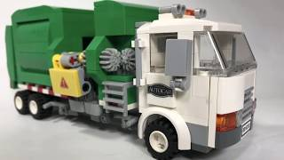 Autocar version of the LEGO Garbage Truck