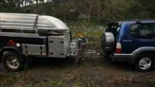 CUB Camper Brumby Camper Trailer as seen on Whats Up Downunder April 21 2012