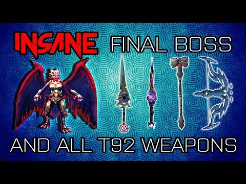 Road to Insane Final Boss and all T92s | Episode 11 | Runescape 2017