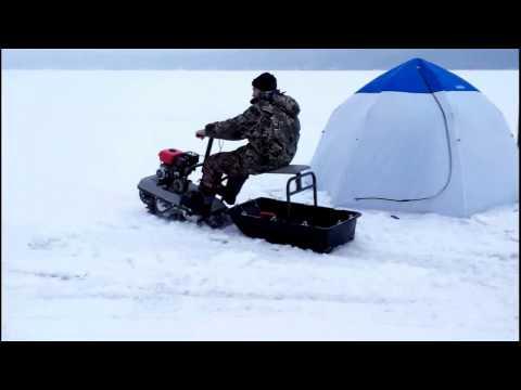 эхолот на снегоход