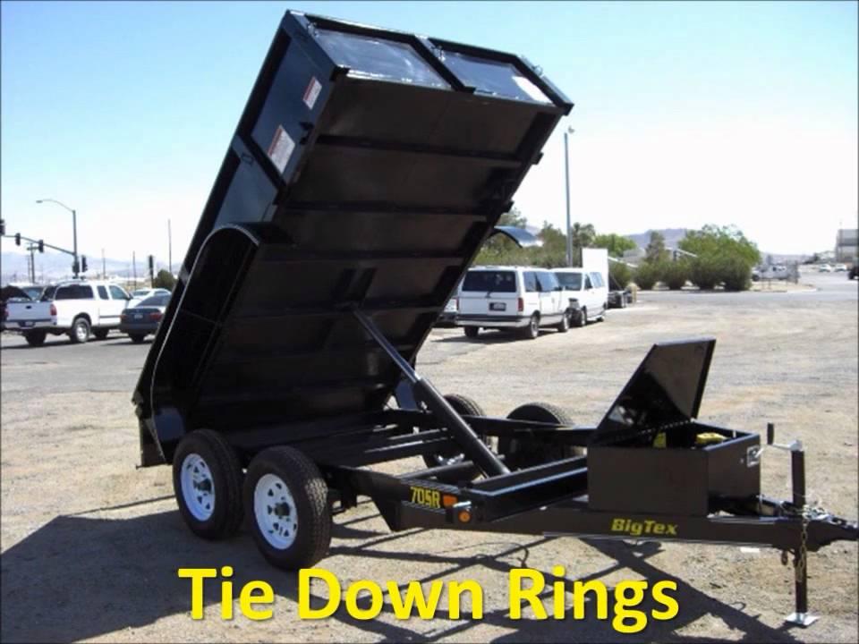 big tex tandem axle dump trailers dump trailers light. Black Bedroom Furniture Sets. Home Design Ideas