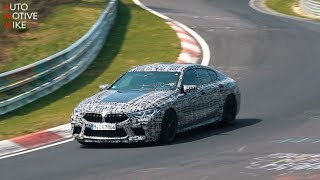 2020 BMW M8 GRAN COUPE SPIED TESTING AT THE NÜRBURGRING