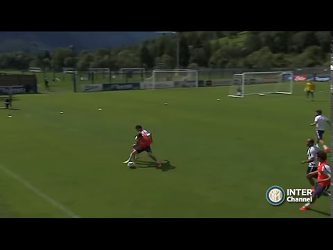 PINZOLO 2014 - ALLENAMENTO INTER REAL AUDIO 15 07 2014