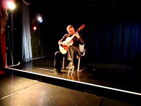 Luciano Marziali plays Vals de Primavera by Agustín Barrios Mangoré LIVE