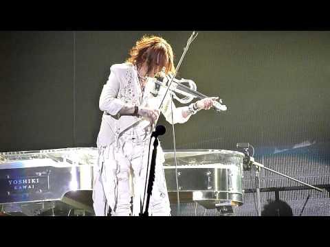 X Japan - Sugizo's Violin Solo + Kurenai Intro (Live in Seoul 2011)