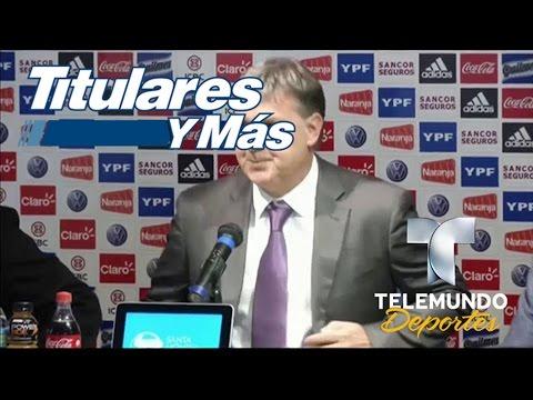 """""""Tata"""" Martino renunció a la selección de Argentina   Titulares y Más   Telemundo Deportes"""