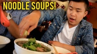 THE BEST ASIAN NOODLE SOUPS IN THE WORLD! | Fung Bros