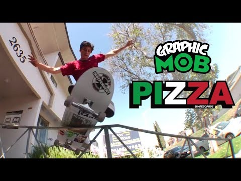 Ducky Kovacs: Graphic MOB x PIZZA Skateboards | MOB Grip