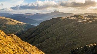The Scottish Wind Howls, Hiking The Brack in 4K   Scotland