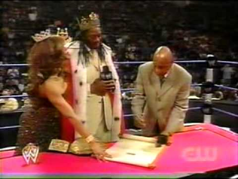 WWE - King Booker-Batista contract signing Music Videos