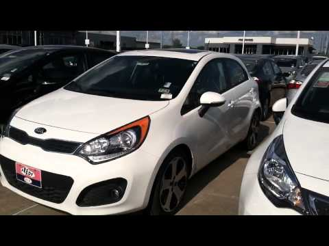 New White 2015 Kia Rio.  A Real Gas Saver!