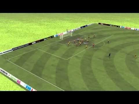 FM11 Sunderland vs Arsenal - Nasri Goal 46th minute