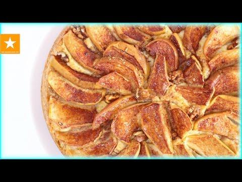 Быстрый пирог к чаю с яблоками рецепт