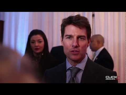 Tom Cruise Video Interview - Oblivion Red Carpet Premiere Dublin