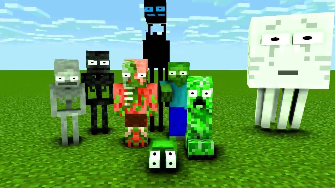 Monster School : MOMO Season 2 ( Part 1 ) - Minecraft Animation